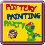 Pottery Painting Party - Play2Day