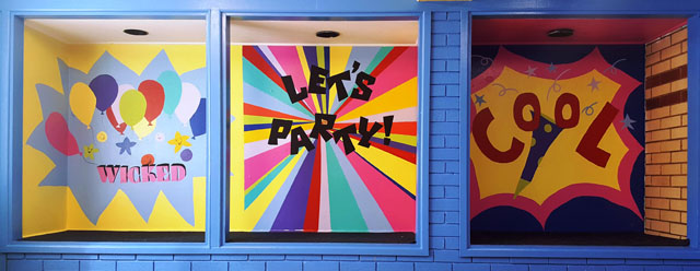 party room 3 paintings s