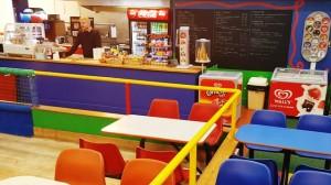 indoor play snack bar