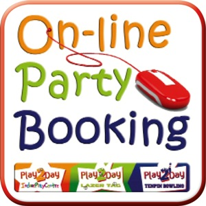 Online Party Booking button 300