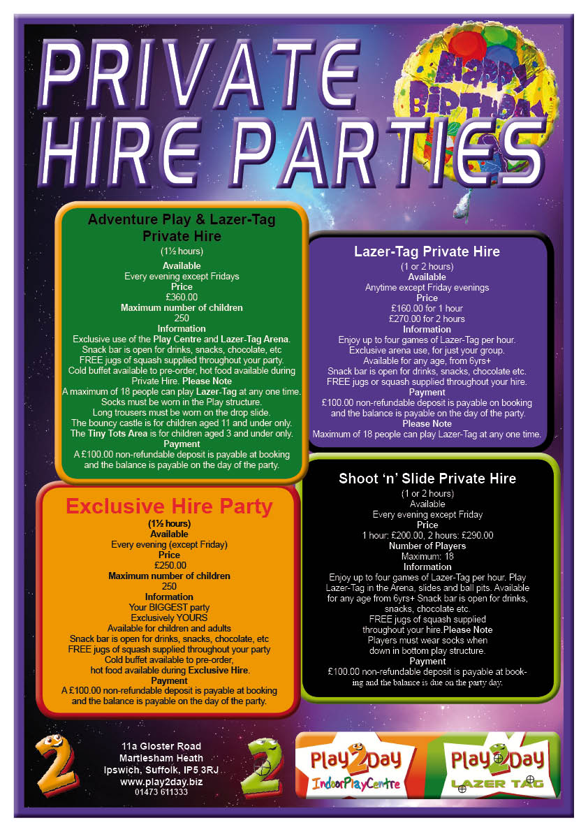 Private Hire Parties