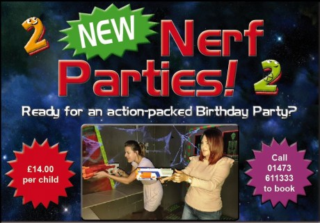 Nerf Parties